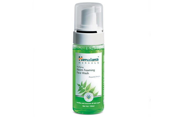 Himalaya Herbals Purifying Neem Foaming Face Wash - Face Washes For Oily Skin