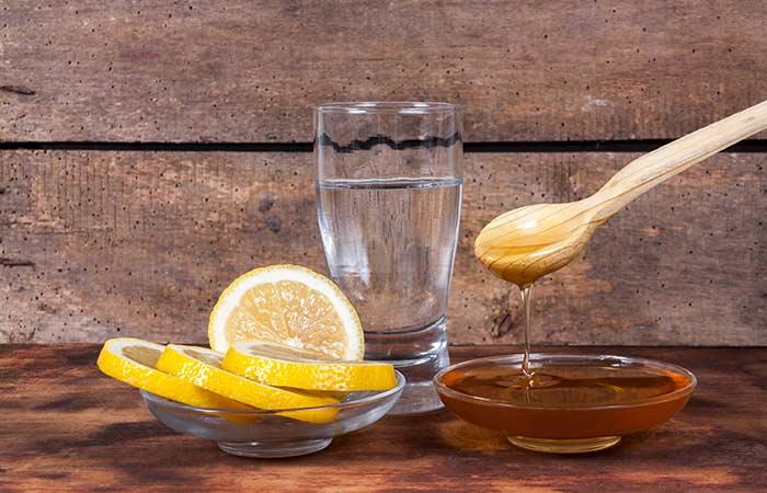 Honey And Lemon Face Pack