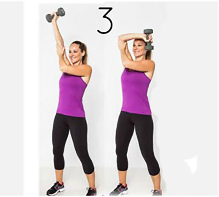 Lose Fat From Arms - Alternating Bicep Curl