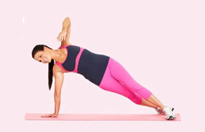 Lose Fat From Arms - Get-Up Plank