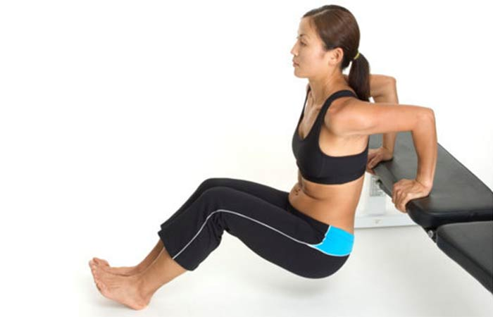 Lose Fat From Arms - Triceps Dips