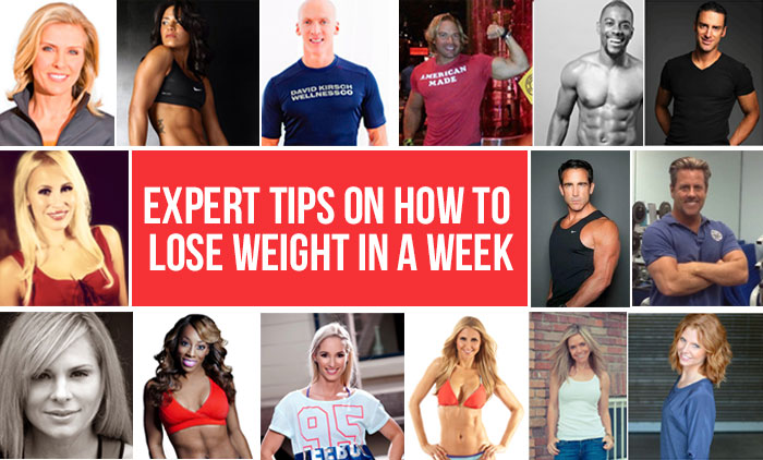 How To Lose Weight In A Week 23 Simple Tips