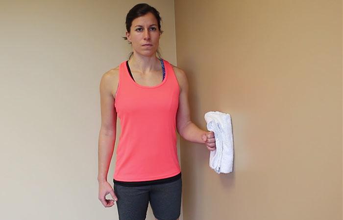 Isometric Shoulder Flexion