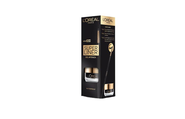 Best Eyeliners In India - L'Oreal Paris Supergel Intenza Eyeliner