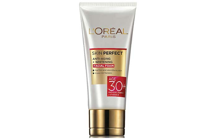 LOreal Age 30 Skin Perfect Anti Aging Whitening Facial Foam