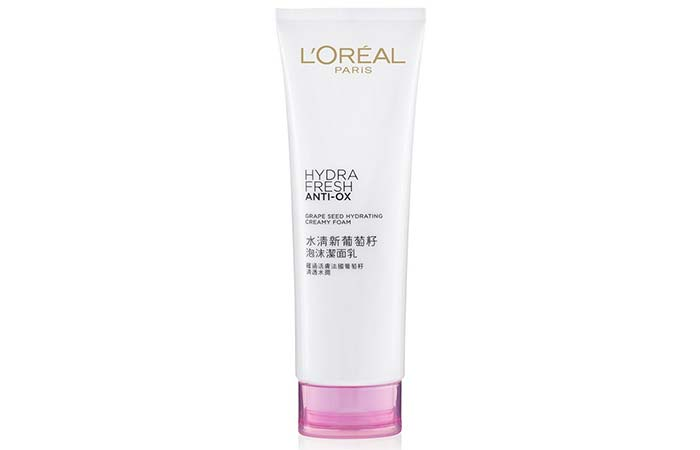 LOreal Hydra Fresh Anti-Ox Кремовая Пена