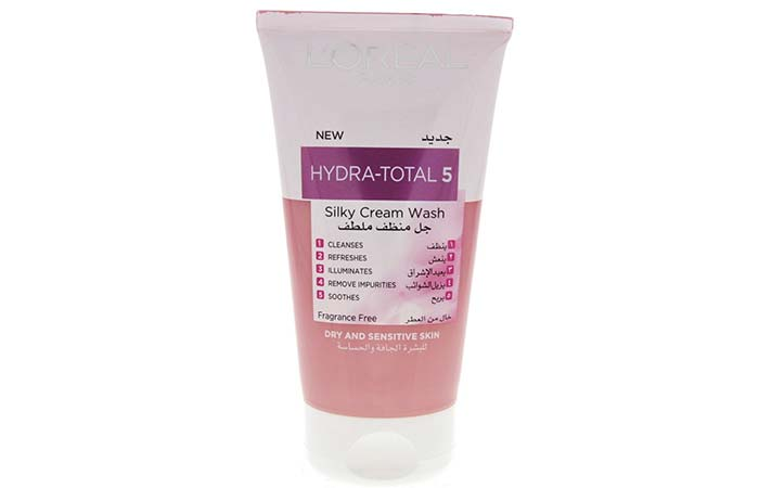 LOreal Hydra-Total 5 Silky Cream Wash