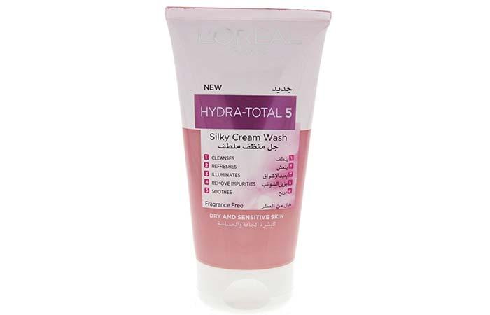 LOreal Hydra-Total 5 Silky Cream Wash