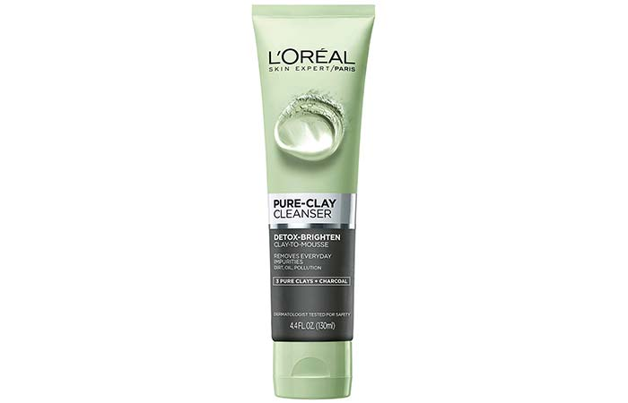 LOreal Pure Clay Cleanser Detox-Brighten
