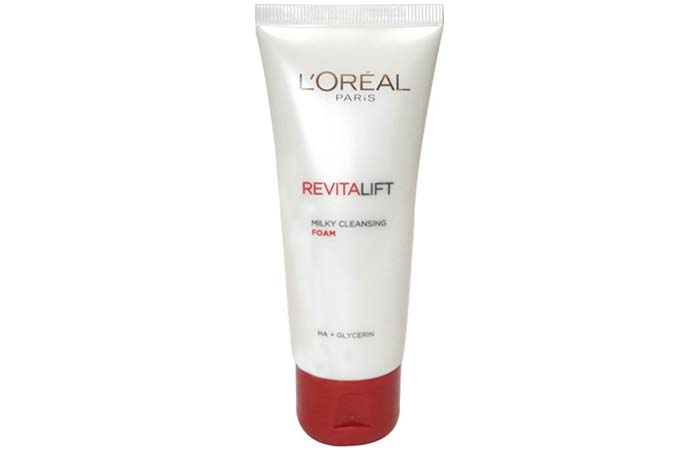 LOreal Revitalift Milky Cleansing Foam