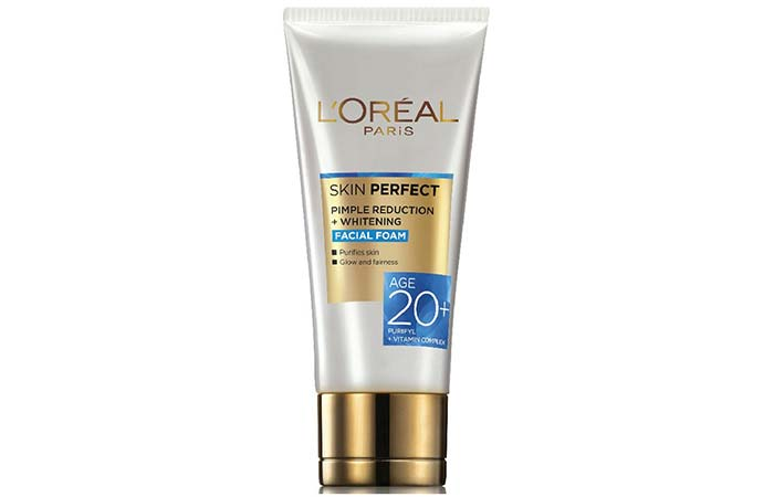 LOreal Skin Perfect Pimple Reducing+Whitening Facial Foam