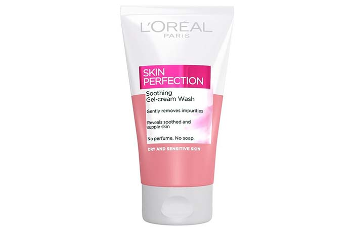 LOreal Skin Perfection Soothing Gel-Cream Wash