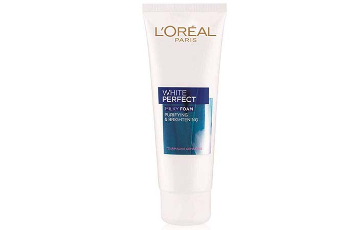 LOreal White Perfect Milky Foam Purifying & Brightening