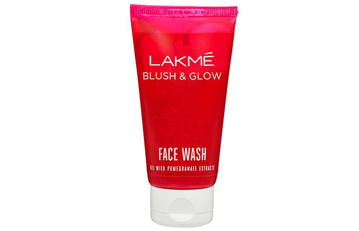 Lakmé Blush And Glow Pomegranate Gel Face Wash