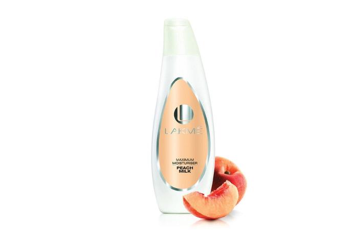 Lakme Fruit Moisture Daily Glow Lotion Peach and Plum - Best Lakme Face Cream