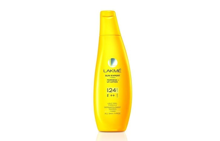 Lakme Sun Expert Fairness UV Lotion SPF 24 PA++