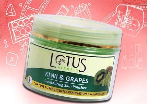 Lotus Herbals Kiwi and Grapes Polisher