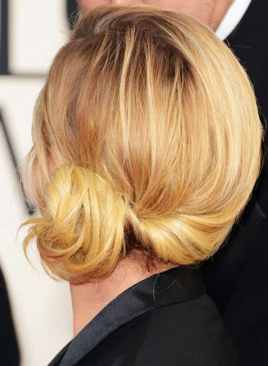 Low-Side-Bun-with-Twisted-Hair-at-the-Back