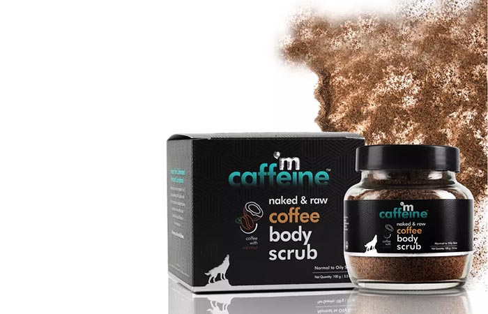 MCaffeine Naked & Raw Coffee Body Scrub