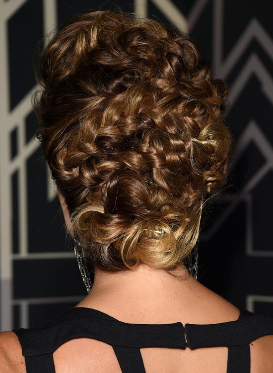 Magnificent-Braided-Updo-with-Messy-Low-Bun