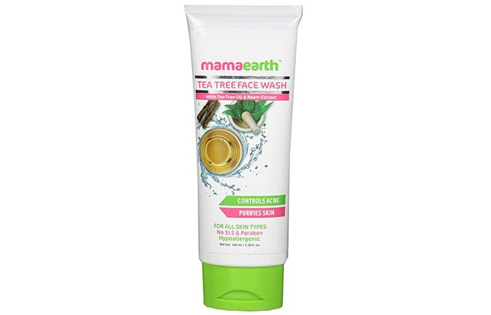Mamaearth Tea Tree Face Wash - Face Washes For Oily Skin