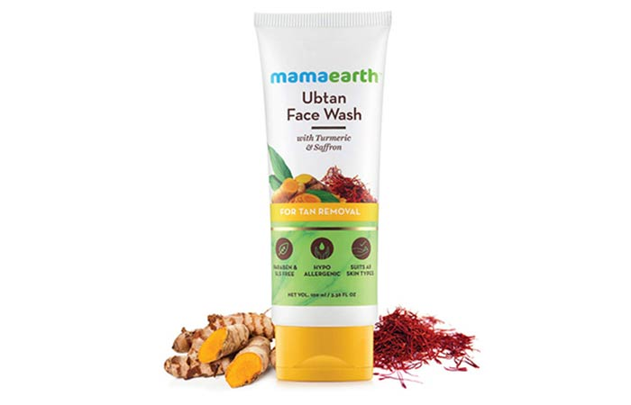 Mamaearth Ubtan Natural Face Wash - Skin Whitening Face Washes