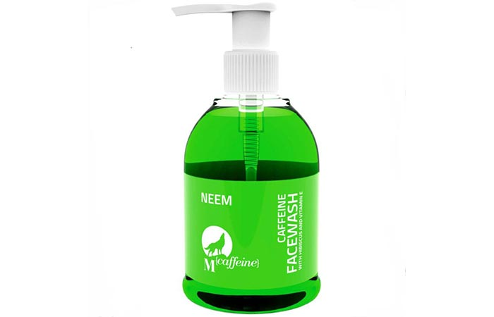 Mcaffeine Neem Face Wash - Face Washes For Oily Skin