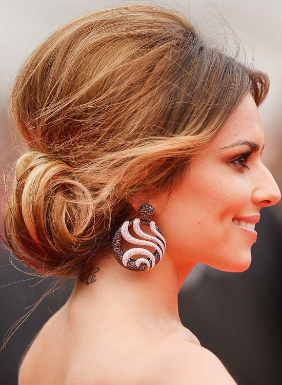 Buns Hairstyles wedding hairstyle inspiration Messy Low Rolled Up Bun With Mini Bouffant