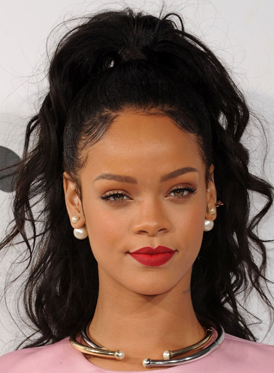 Rihanna Hairstyles image getty Image Getty