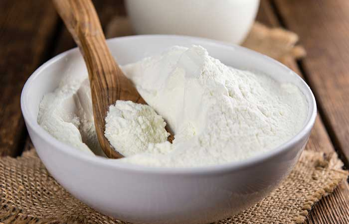 Milk Powder Face Mask