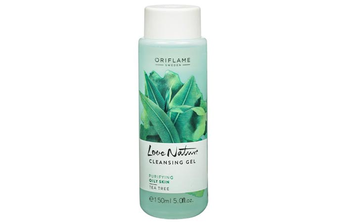 Oriflame Love Nature Tea Tree Cleansing Gel - Face Washes For Oily Skin
