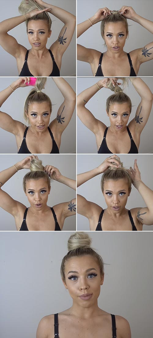 Perfect Top Knot