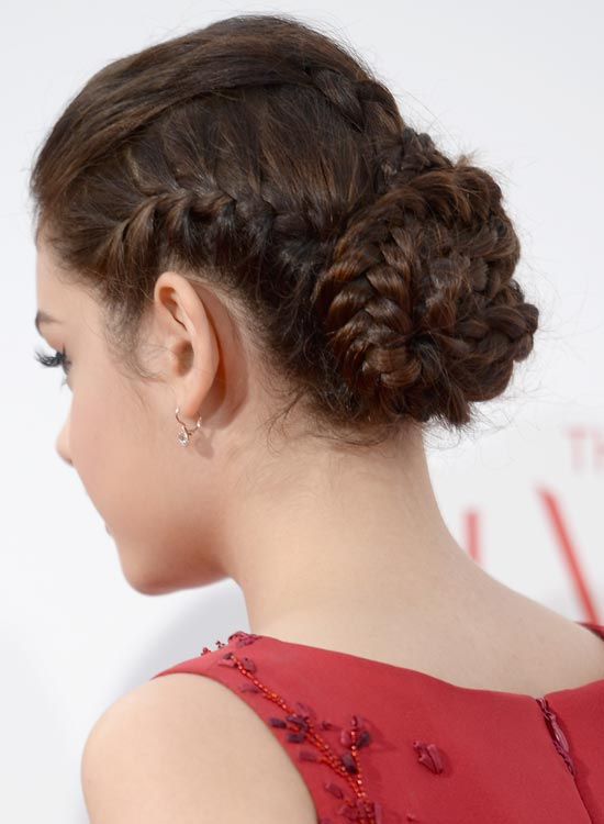 Plaited-Brunette-Bun