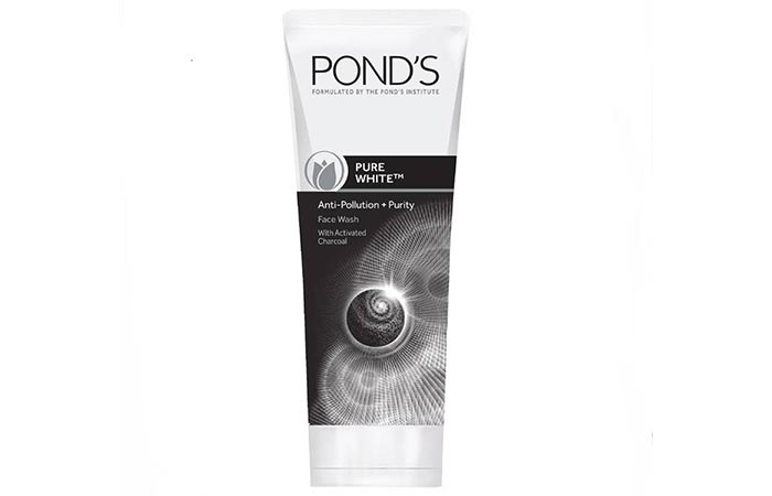 Pond's Pure White Anti-Pollution + Purity Face Wash - Face Washes For Oily Skin