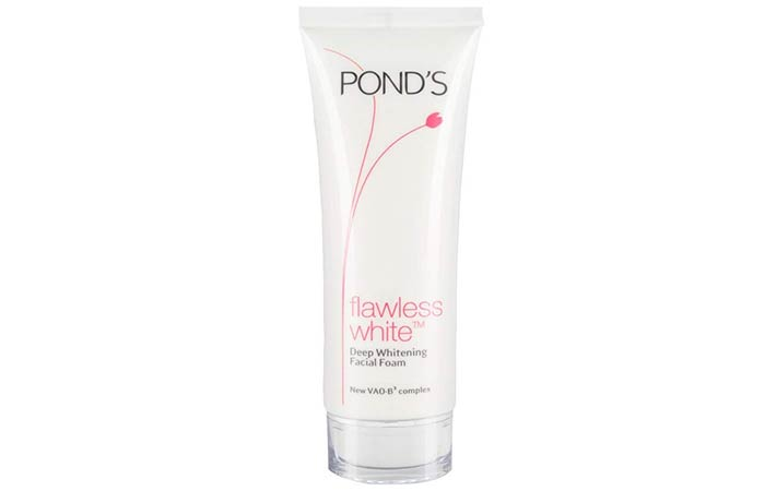 Pond's Flawless White Deep Whitening Facial Foam - Skin Whitening Face Washes
