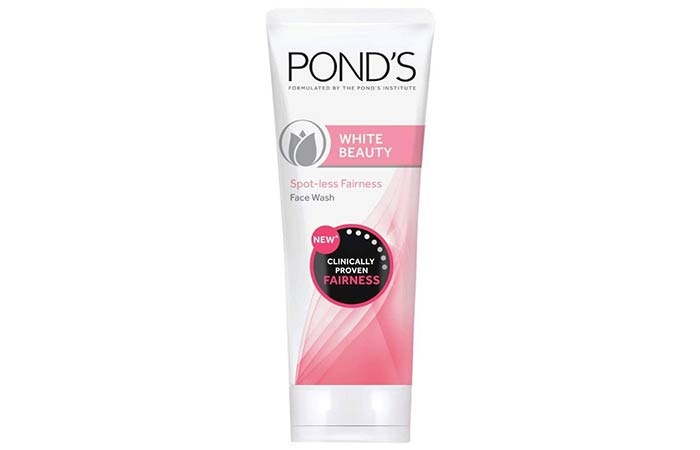 Pond's White Beauty Spot-less Fairness Face Wash - Skin Whitening Face Washes