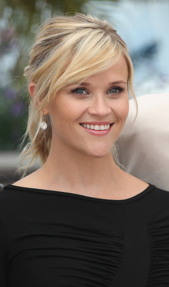 Ponytail With Side-Swept Bangs