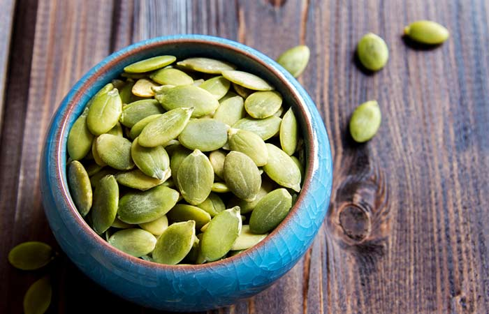 Protein For Hair Growth - Pumpkin seeds