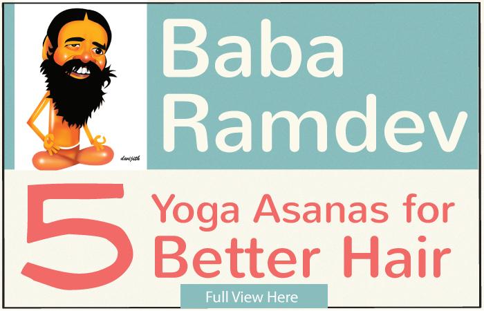 7 Baba Ramdev Yoga Asanas For Better Hair