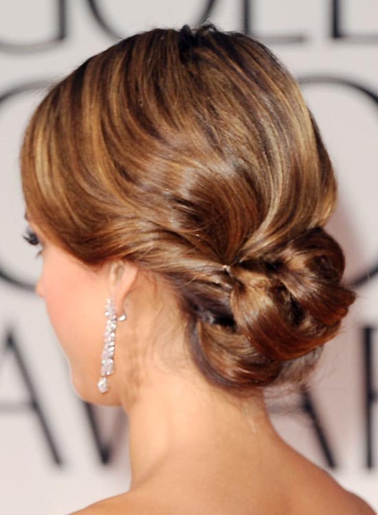 9 Relaxed Low Folded And Pinned Updo