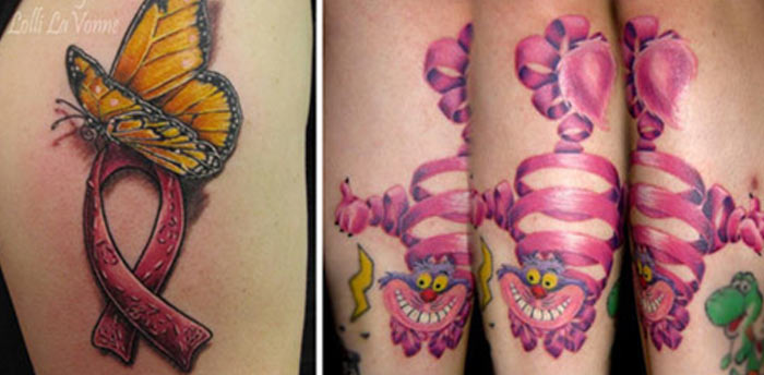 Ribbon Tattoo Designs