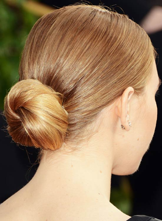 Small-Low-Twisted-Bun-with-Smooth-Finish