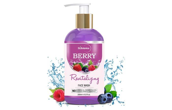 St. Botanica Berry Revitalizing Face Wash