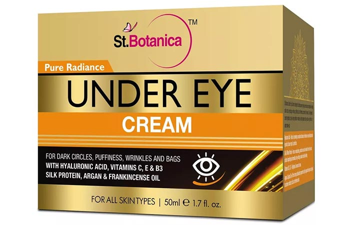 St. Botanica Pure Radiance Under Eye Cream