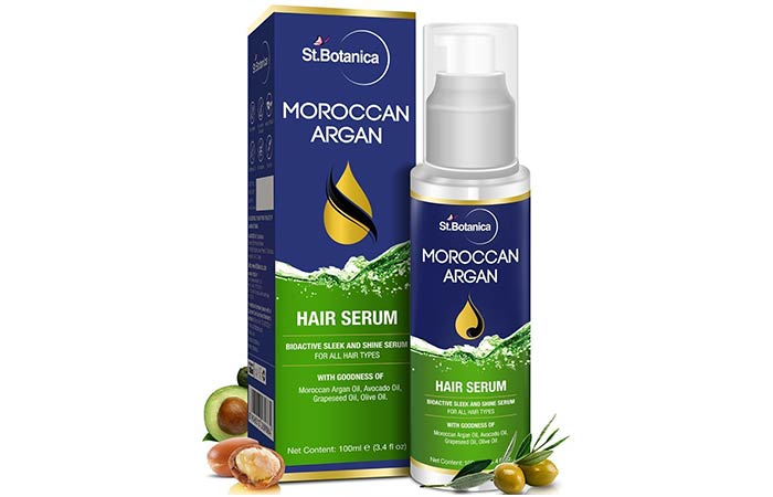 St. Botanica Moroccan Argan Hair Serum