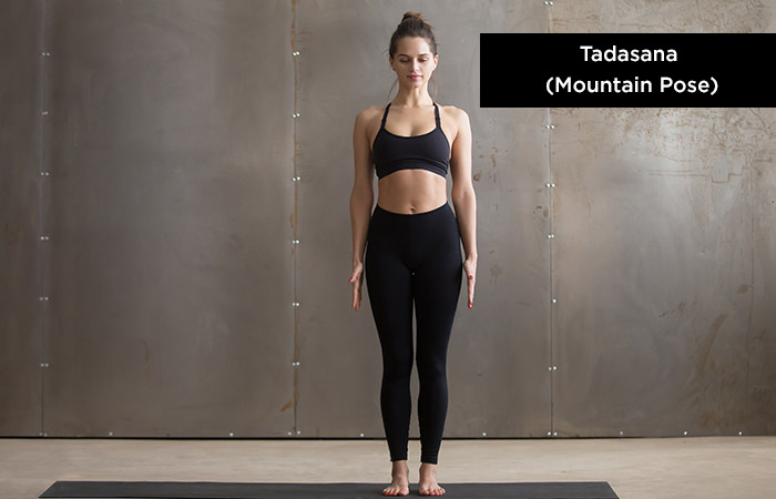 Tadasana (Mountain-Pose) - Yoga for Increasing Height
