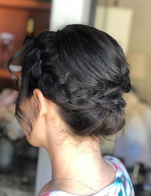 The Bridesmaid Updo
