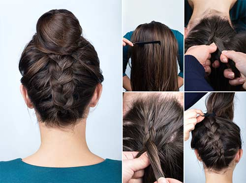 The French Braid Bun