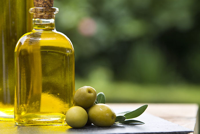Vigorous Massage With Olive Oil