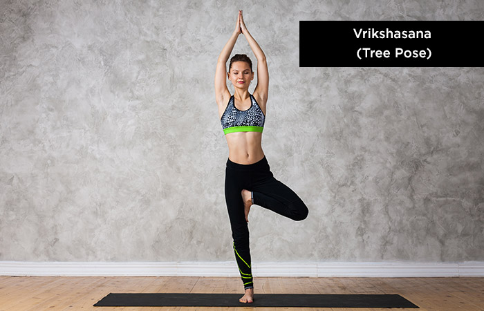Vrikshasana (Tree-Pose) - Yoga for Increasing Height